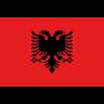 Flag for Albanien