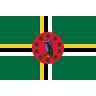 Flag for Dominica - se landekode