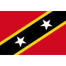 Flag for Saint Kitts og Nevis - se landekode