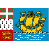 Flag for Saint Pierre og Miquelon - se landekode
