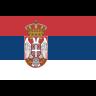 Flag for Serbien - se landekode