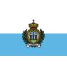 Flag for San Marino - se landekode