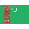 Flag for Turkmenistan - se landekode
