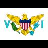 Flag for Jomfruøerne (Amerikanske) - se landekode